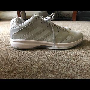Grey/Teal Adidas sneakers